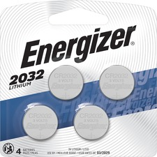 EVE 2032BP4 Energizer 2032 Watch/Electronic Batteries EVE2032BP4