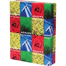 MOW 36213 Mohawk Color Copy Gloss 100 lb. Cover Paper MOW36213