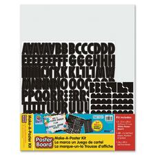 PAC 1785 Pacon Poster Board Make-a-Poster Kit PAC1785