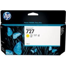 HP 727 (B3P21A) Original Ink Cartridge - Single Pack - Inkjet - Standard Yield - Yellow - 1 Each 130 ml