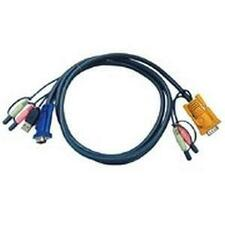 ATEN 10 FT KVM Cable with Audio