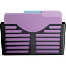 LLR80663 - Lorell Plastic Cubicle Pocket File