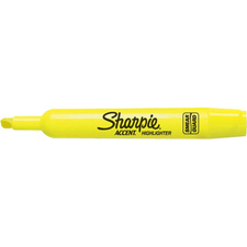 Sharpie Accent Highlighter - Tank - Chisel Marker Point Style - Fluorescent Yellow - 1 Each