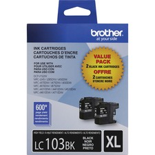 Brother Innobella LC1032PKS Original Ink Cartridge - Inkjet - High Yield - 600 Pages - Black