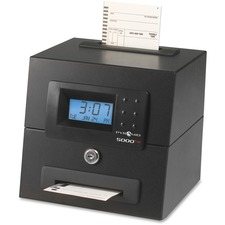PTI 5000HD Pyramid 5000 Heavy Duty Auto Totaling Time Clock PTI5000HD