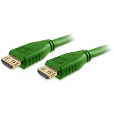 Comprehensive Pro AV/IT High Speed HDMI Cable with ProGrip, SureLength, CL3- Dark Green 1.5ft