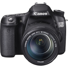 Canon EOS 70D 20.2 Megapixel Digital SLR Camera with Lens - 18 mm - 135 mm