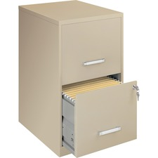 "LLR 14340 Lorell Lorell SOHO 18"" 2-drawer File Cabinets LLR14340"