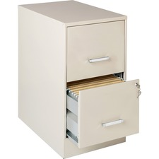 "LLR 16870 Lorell SOHO 22"" 2-drawer File Cabinets LLR16870"