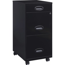 "LLR 17427 Lorell SOHO 18"" 3-drawer File Cabinets LLR17427"
