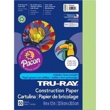 PAC 103005 Pacon Tru-Ray Heavyweight Construction Paper PAC103005