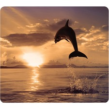 FEL 5913401 Fellowes Dolphin Image Recycled Optical Mouse Pad FEL5913401