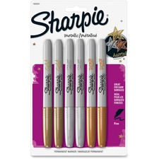 SAN 1829201 Sanford Sharpie Metallic Permanent Markers SAN1829201