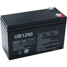 Ups With F1 Terminal 12 Volts Sealed Lead Acid Battery / Mfr. No.: Ub1290-Er