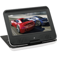 Portable DVD Player 9in Tft W/ Remote / Mfr. No.: Pd901w