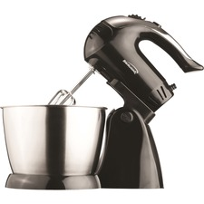 Brentwood 5 Speed Stand Mixer with Stainless Steel Bowl in Black (SM-1153)