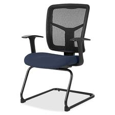 LLR8620252 - Lorell ErgoMesh Series Mesh Side Arm Guest Chair
