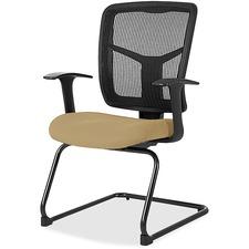 LLR8620240 - Lorell ErgoMesh Series Mesh Side Arm Guest Chair