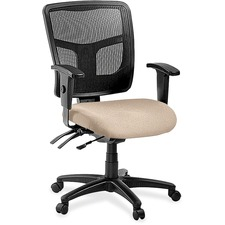 LLR8620189 - Lorell ErgoMesh Series Managerial Mid-Back Chair