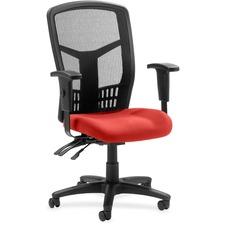 LLR8620057 - Lorell ErgoMesh Series Executive Mesh Back Chair