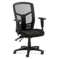 LLR8620063 - Lorell ErgoMesh Series Executive Mesh Back Chair