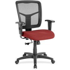 LLR8620954 - Lorell Managerial Mesh Mid-back Chair