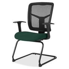 LLR8620250 - Lorell ErgoMesh Series Mesh Side Arm Guest Chair