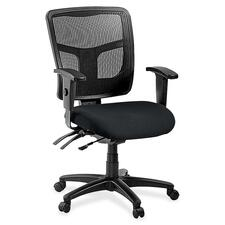 LLR8620149 - Lorell ErgoMesh Series Managerial Mid-Back Chair