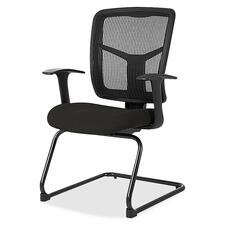 LLR8620263 - Lorell ErgoMesh Series Mesh Side Arm Guest Chair