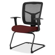 LLR8620244 - Lorell ErgoMesh Series Mesh Side Arm Guest Chair