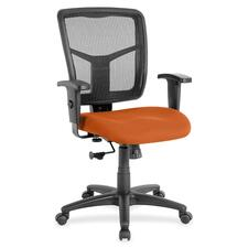 LLR8620994 - Lorell Managerial Mesh Mid-back Chair