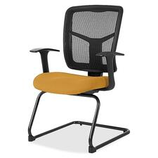 LLR8620253 - Lorell ErgoMesh Series Mesh Side Arm Guest Chair