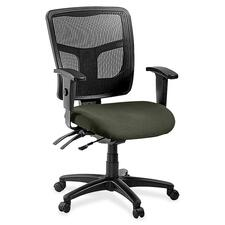 LLR8620167 - Lorell ErgoMesh Series Managerial Mid-Back Chair
