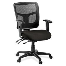 LLR8620163 - Lorell ErgoMesh Series Managerial Mid-Back Chair