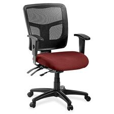 LLR8620131 - Lorell ErgoMesh Series Managerial Mid-Back Chair
