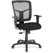 LLR8620963 - Lorell Managerial Mesh Mid-back Chair