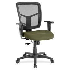 LLR8620934 - Lorell Managerial Mesh Mid-back Chair