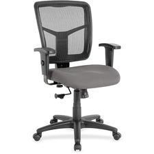 LLR8620960 - Lorell Managerial Mesh Mid-back Chair