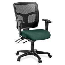 LLR8620142 - Lorell ErgoMesh Series Managerial Mid-Back Chair