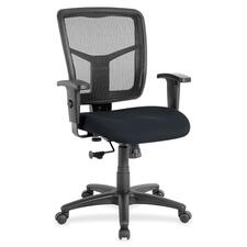 LLR8620997 - Lorell Managerial Mesh Mid-back Chair