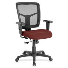LLR8620947 - Lorell Managerial Mesh Mid-back Chair
