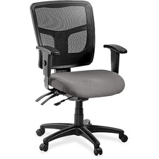 LLR8620160 - Lorell ErgoMesh Series Managerial Mid-Back Chair