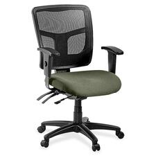 LLR8620185 - Lorell ErgoMesh Series Managerial Mid-Back Chair