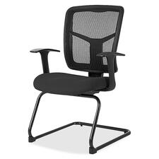 LLR8620235 - Lorell ErgoMesh Series Mesh Side Arm Guest Chair