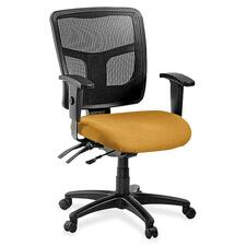 LLR8620153 - Lorell ErgoMesh Series Managerial Mid-Back Chair