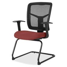 LLR8620288 - Lorell ErgoMesh Series Mesh Side Arm Guest Chair
