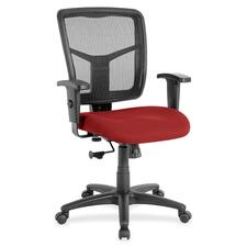 LLR8620995 - Lorell Managerial Mesh Mid-back Chair