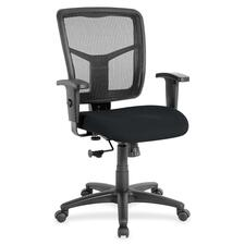 LLR8620949 - Lorell Managerial Mesh Mid-back Chair