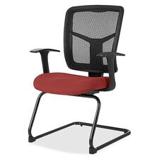 LLR8620254 - Lorell ErgoMesh Series Mesh Side Arm Guest Chair
