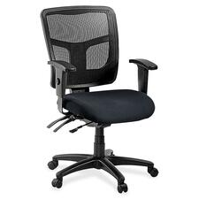 LLR8620197 - Lorell ErgoMesh Series Managerial Mid-Back Chair